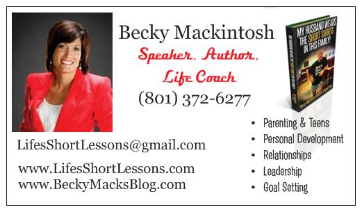 New Becky Business Cards F