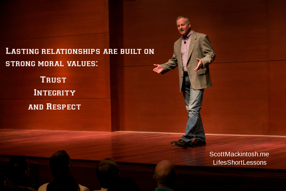 Scott Mackintosh Lasting Relationships - Moral Values  LSL